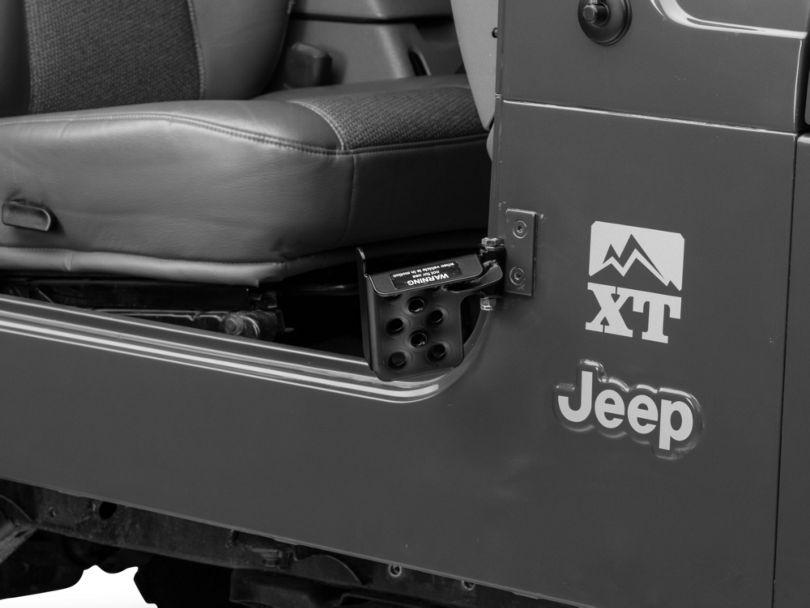 M.O.R.E. Exterior Door Pedal - Passengers Side (97-06 Jeep Wrangler TJ)