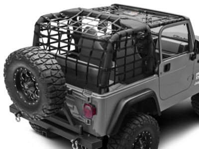 TruShield Complete Netting Kit (92-06 Jeep Wrangler YJ & TJ)