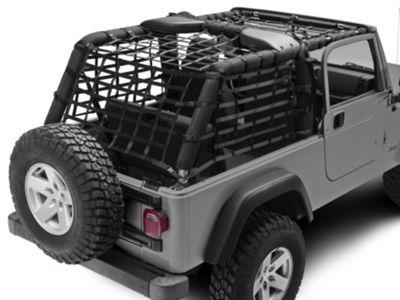 TruShield Complete Netting Kit (04-06 Jeep Wrangler TJ Unlimited)
