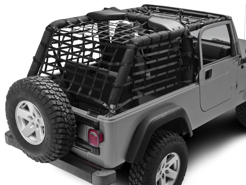 Dark Forest Complete Netting Kit (04-06 Jeep Wrangler TJ Unlimited)