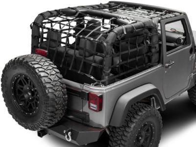 TruShield Complete Netting Kit (07-18 Jeep Wrangler JK 2 Door)