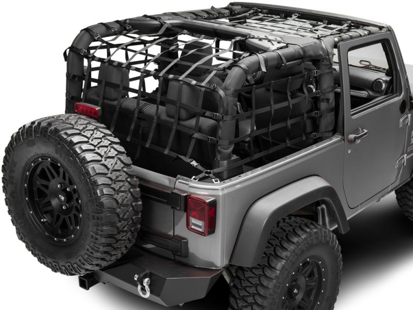 Dark Forest Complete Netting Kit (07-18 Jeep Wrangler JK 2 Door)