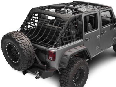 TruShield Complete Netting Kit (07-18 Jeep Wrangler JK 4 Door)