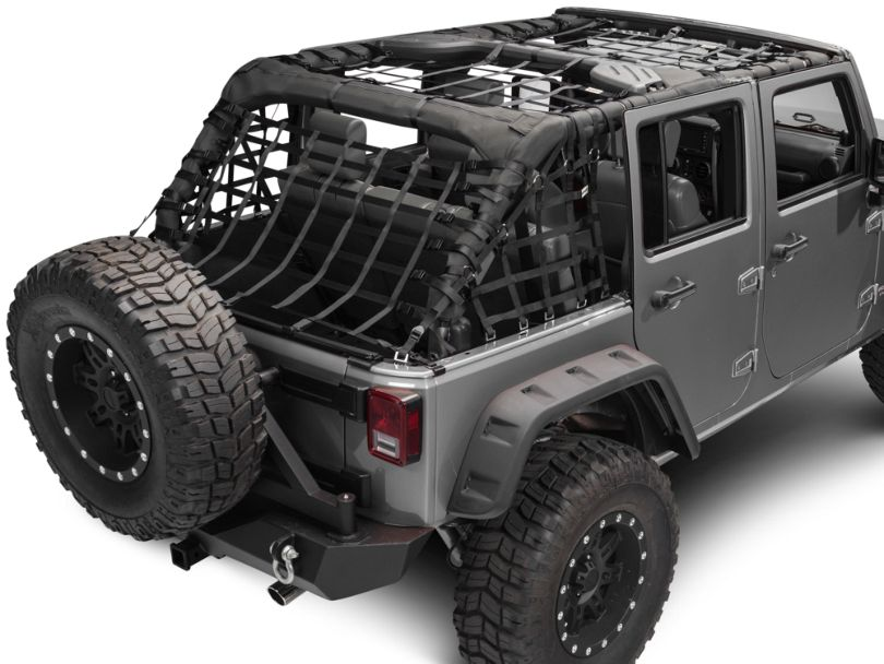 RedRock 4x4 Complete Netting Kit (07-18 Jeep Wrangler JK 4 Door)