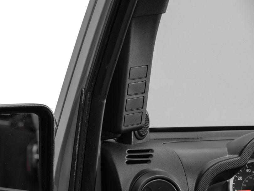 Daystar A-Pillar Switch Pod (07-10 Jeep Wrangler JK)