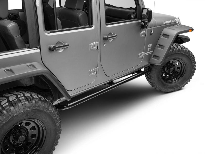 ARB Rock Sliders - Satin Black (07-18 Jeep Wrangler JK 4 Door)