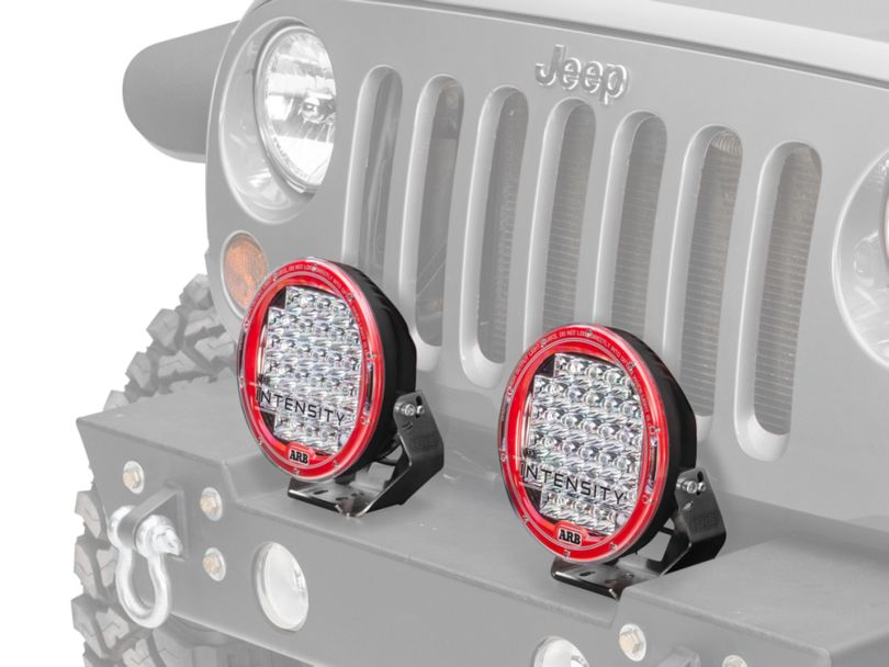 ARB Intensity 9.50-Inch Round 32 LED Light; Spot Beam (87-20 Jeep Wrangler YJ, TJ, JK & JL)