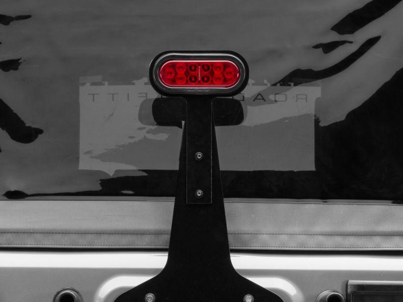 Barricade Adjustable LED Third Brake Light (87-18 Jeep Wrangler YJ, TJ & JK)