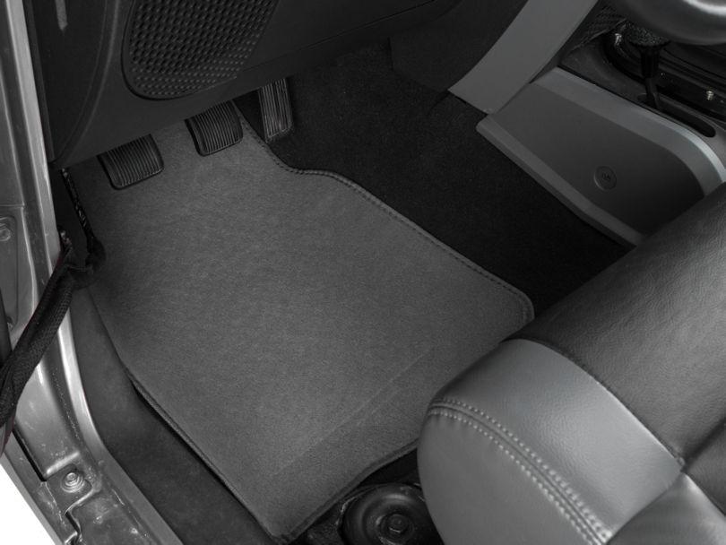 Alterum 4-Piece Fabric Floor Mat Set - Gray (87-20 Jeep Wrangler YJ, TJ, JK & JL)