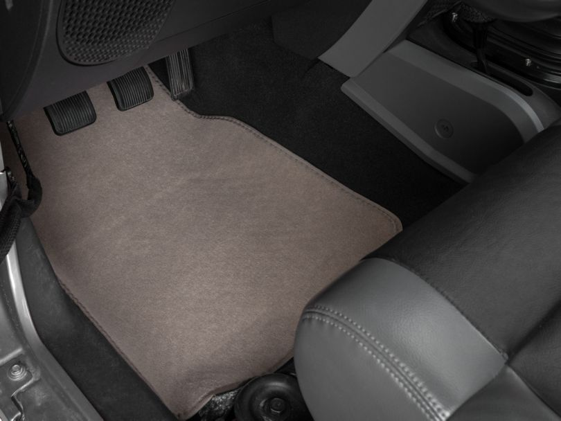 Alterum 4-Piece Fabric Floor Mat Set - Beige (87-20 Jeep Wrangler YJ, TJ, JK & JL)