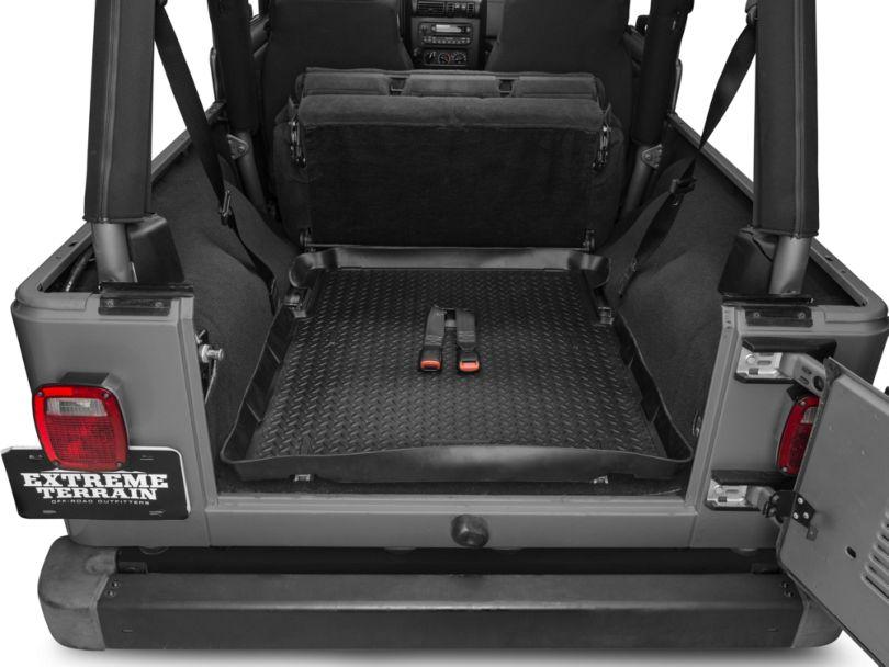Classic Cargo Liner - Black (04-06 Jeep Wrangler TJ Unlimited)