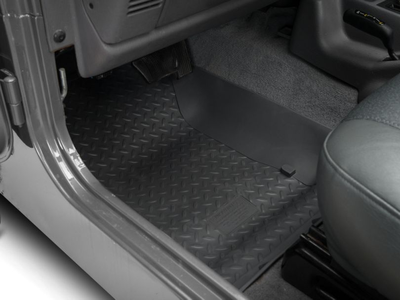 Husky Classic Front Floor Liners - Gray (97-06 Jeep Wrangler TJ)
