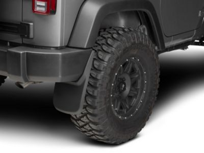 Husky Rear Mud Guards (07-18 Jeep Wrangler JK)