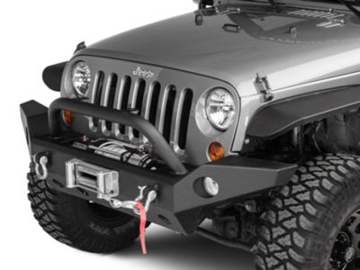 Barricade Trail Force HD Full Width Front Bumper (07-18 Jeep Wrangler JK)