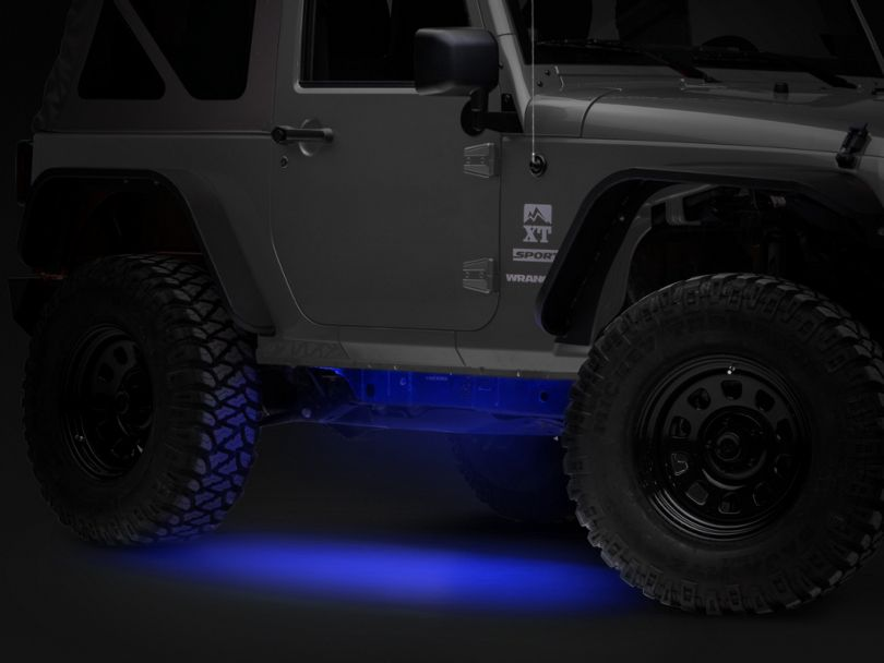 Axial 36-Inch Flexible LED Strip; Blue