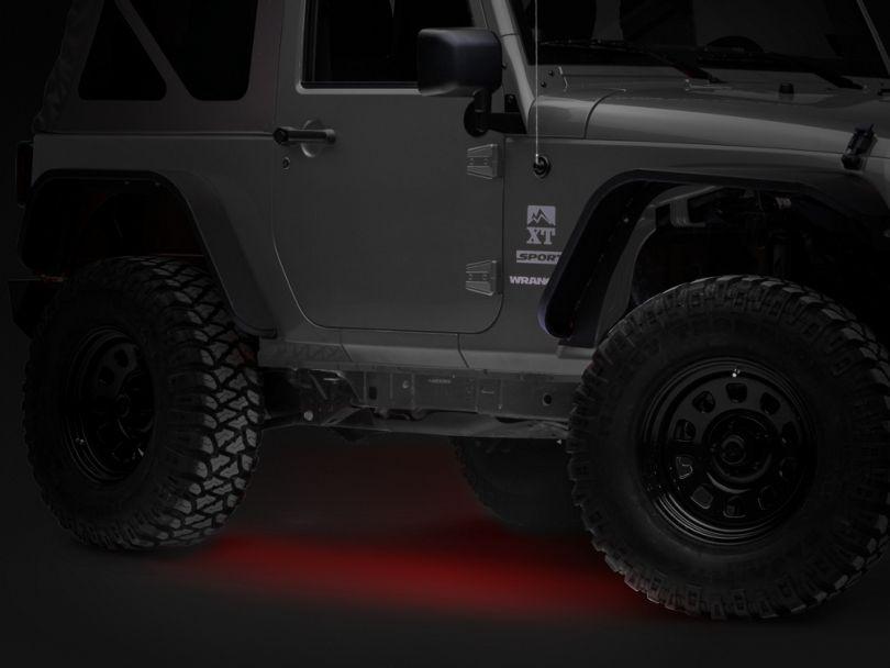 Axial Flexible LED Strip 36 in. - Red (87-20 Jeep Wrangler YJ, TJ, JK & JL)