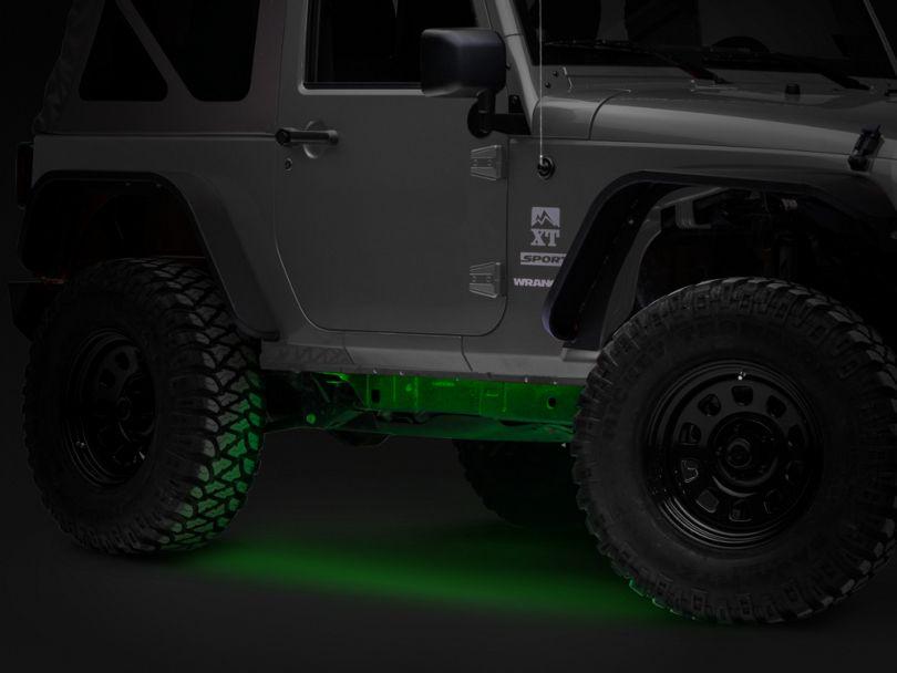 Axial Flexible LED Strip 36 in. - Green (87-20 Jeep Wrangler YJ, TJ, JK & JL)