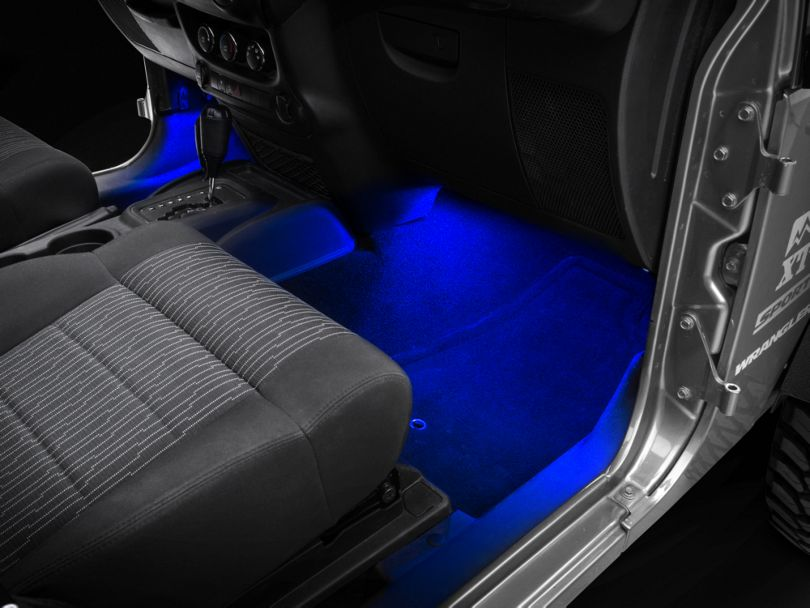 Axial 15 in. LED Strips - Blue (87-20 Jeep Wrangler YJ, TJ, JK & JL)