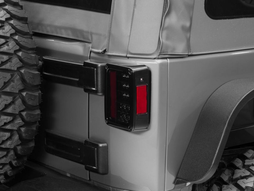Smoked LED Tail Lights (07-18 Jeep Wrangler JK)