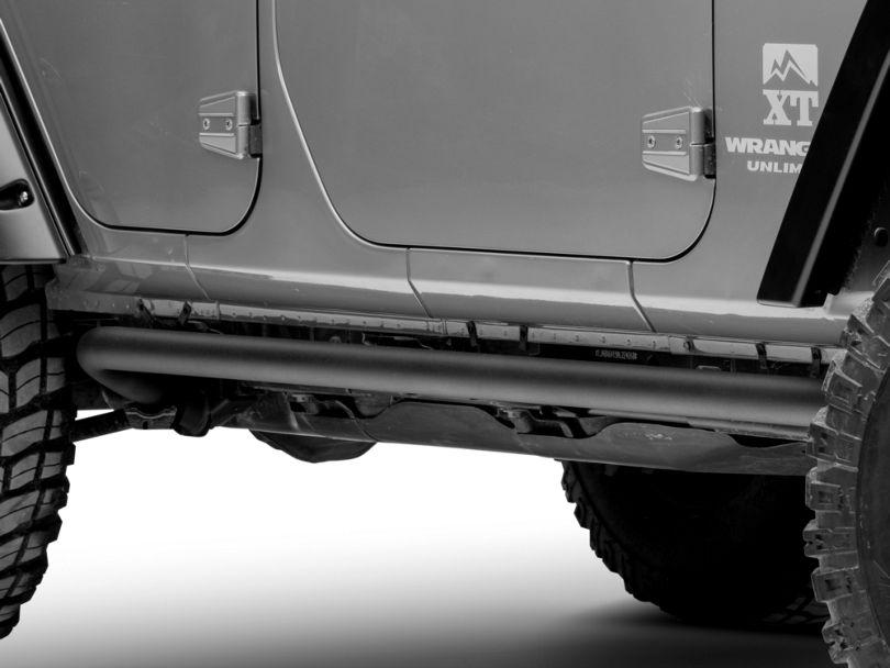 ARB Rock Sliders - Textured Black (07-18 Jeep Wrangler JK 4 Door)