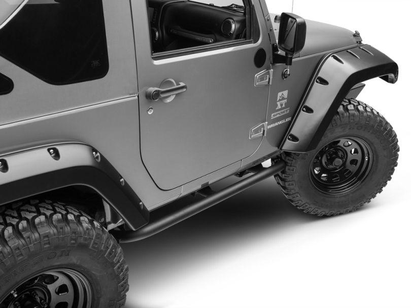 ARB Rock Sliders - Textured Black (07-18 Jeep Wrangler JK 2 Door)