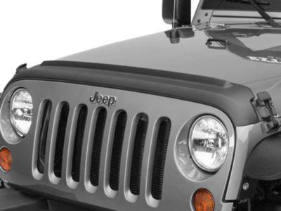 Bushwacker Textured Hood and TailGate Protector (07-18 Jeep Wrangler JK)