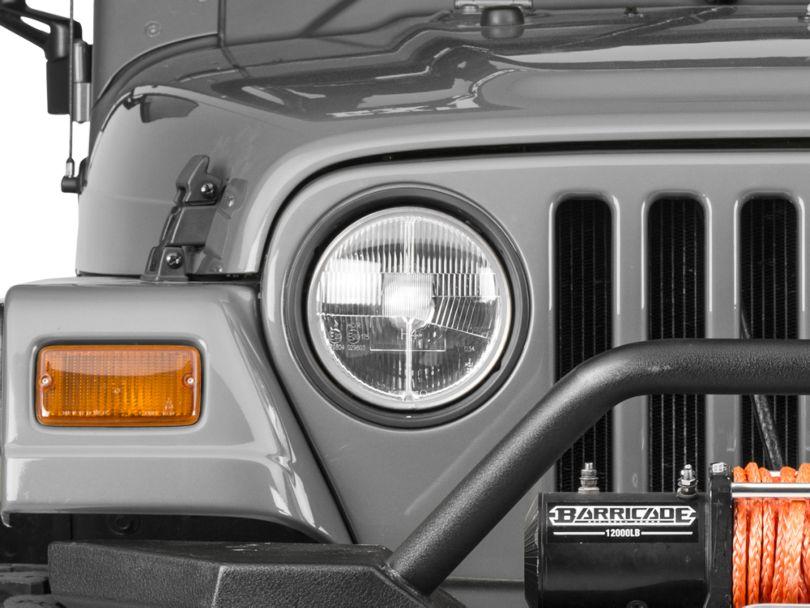 Delta Classic 7 Xenon in. Headlight Kit (97-06 Jeep Wrangler TJ)