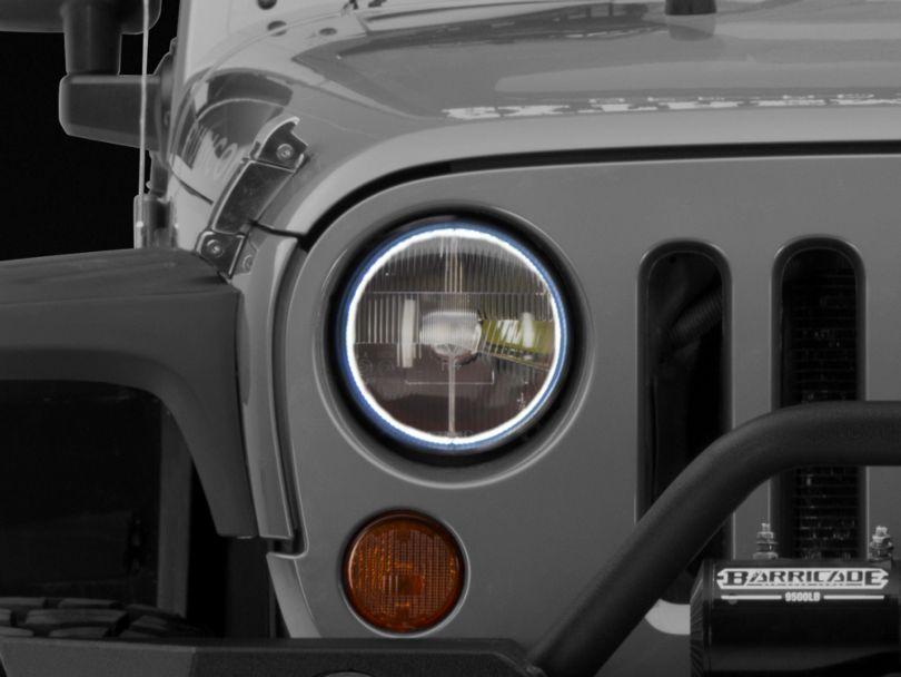 Delta Classic 7 in. LED Headlight Kit (97-06 Jeep Wrangler TJ)