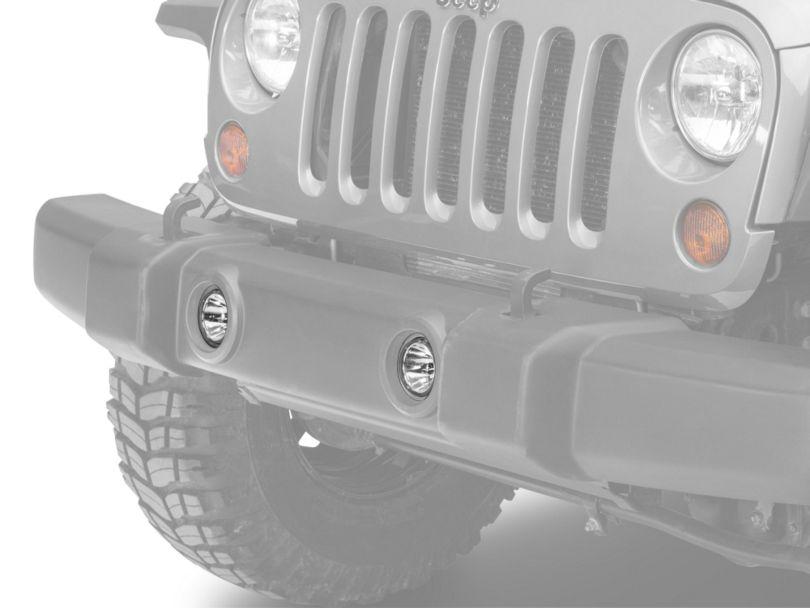 Delta Xenon Bumper Driving Lamp Kit (07-18 Jeep Wrangler JK)