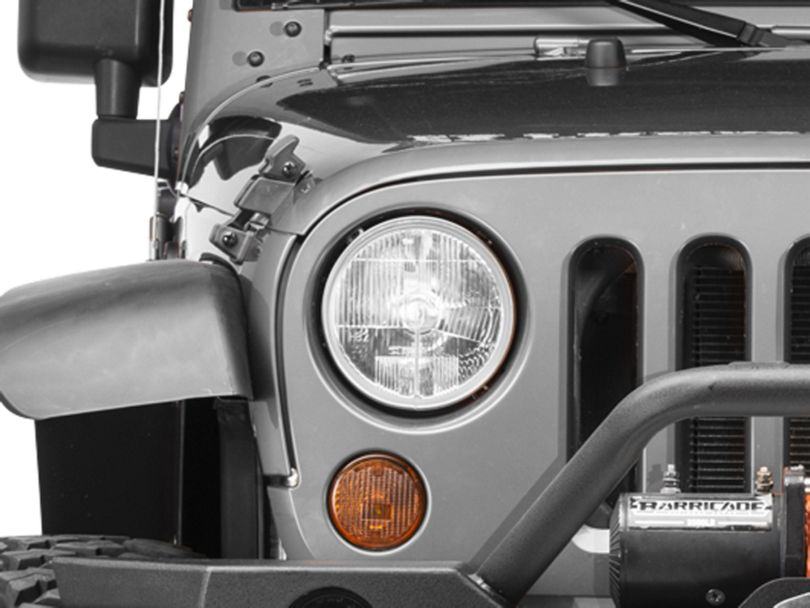 Delta 7-Inch Xenon Headlights (07-18 Jeep Wrangler JK)