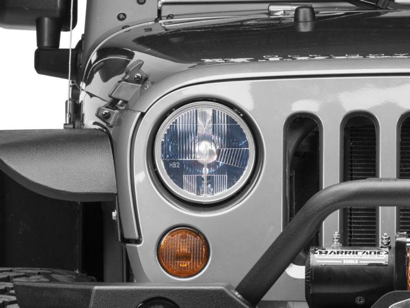 Delta Waterproof Xenon 7 in. Headlight Kit (07-18 Jeep Wrangler JK)