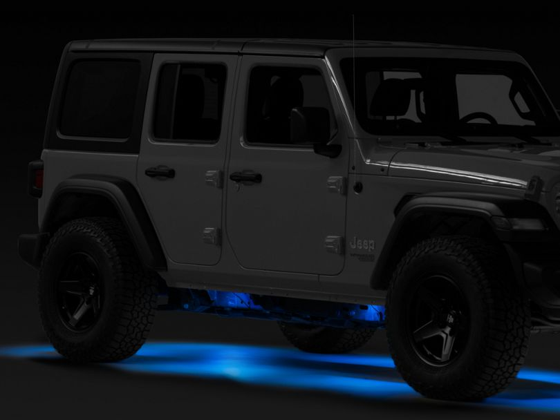 Vision X Tantrum LED Rock Light; Blue