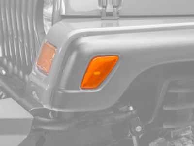 Axial Amber Side Marker Lights - Pair (97-06 Jeep Wrangler TJ)
