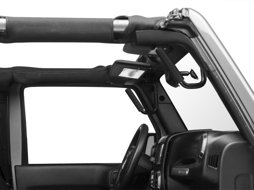 Grab Handle Grips - Black (87-18 Jeep Wrangler YJ, TJ & JK)