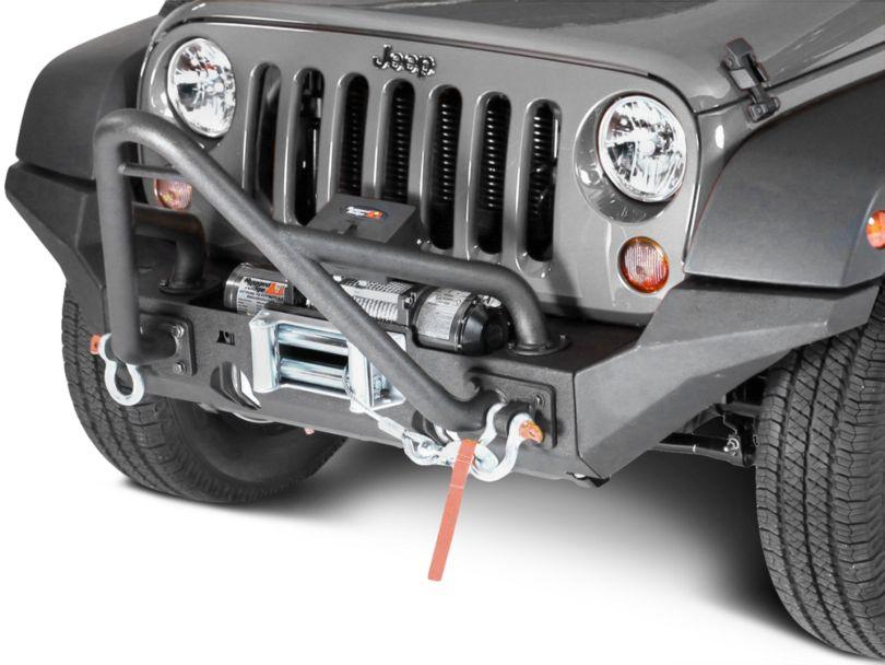 Rugged Ridge XHD High Clearance Bumper Ends (07-18 Jeep Wrangler JK)