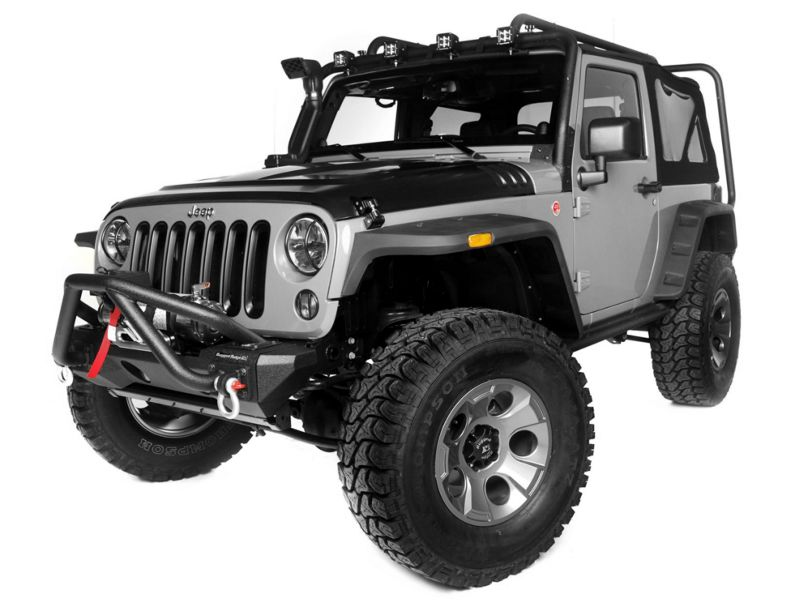 Rugged Ridge Exploration Exterior Restyling Package (13-18 Jeep Wrangler JK 2 Door)