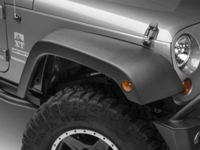 Add Omix-ADA 4-Piece OE Style Replacement Fender Flares (07-17 Wrangler JK)