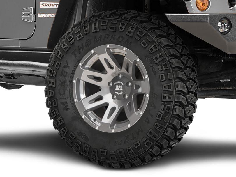 Rugged Ridge XHD Gun Metal Gray Wheel - 18x9 (07-18 Jeep Wrangler JK)
