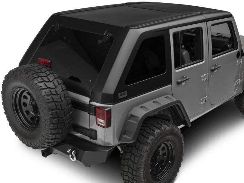 DV8 Off-Road 2-Piece Ranger Fastback Hard Top (07-18 Jeep Wrangler JK 4 Door)