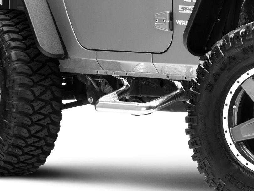 Carr Super Hoop Steps - Polished (07-18 Jeep Wrangler JK)