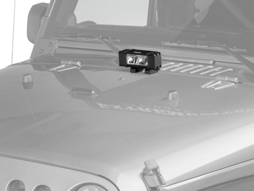 PIAA RF Series 6 Inch LED Light Bar; Fog Beam