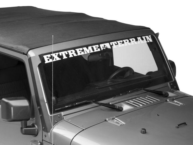 Putco 50 in. Luminix Light Bar Roof Mounting Bracket (07-18 Jeep Wrangler JK)