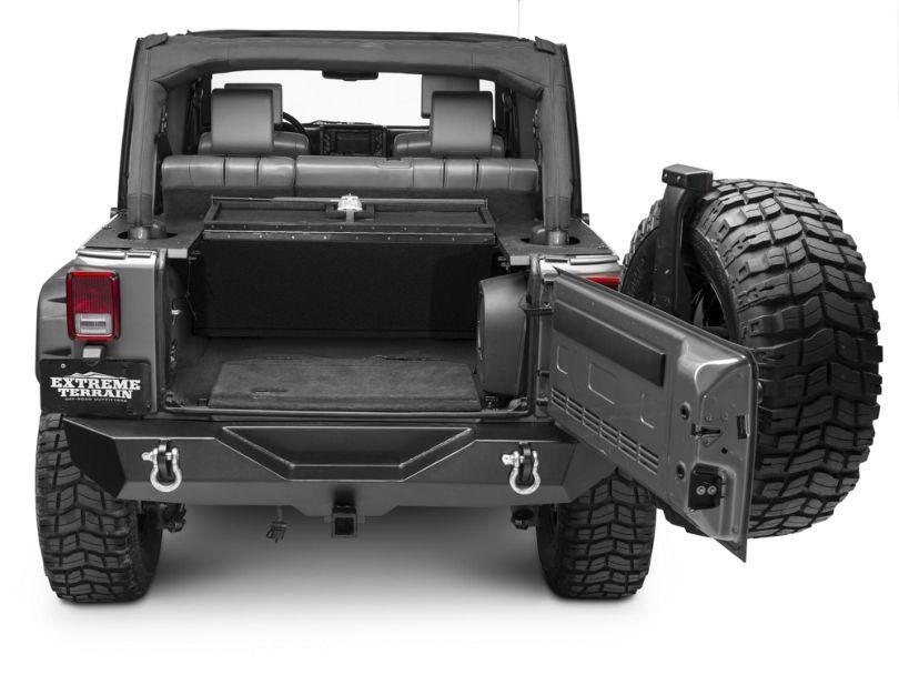 Aries Automotive Security Cargo Lid (07-10 Jeep Wrangler JK 4 Door)