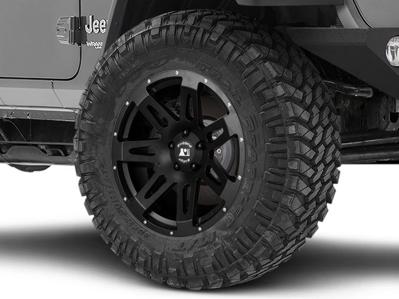 Rugged Ridge XHD Satin Black Wheel; 20x9 (18-20 Jeep Wrangler JL)
