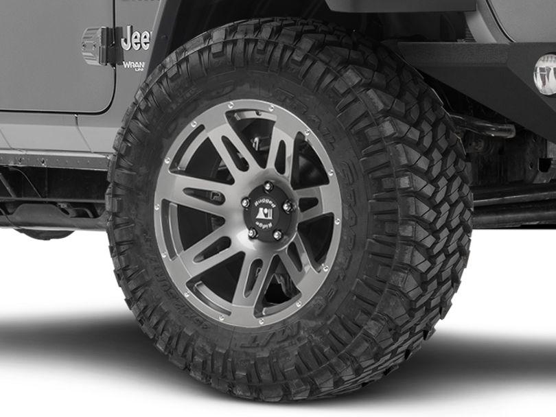 Rugged Ridge XHD Gun Metal Gray Wheel - 20x9 (18-20 Jeep Wrangler JL)