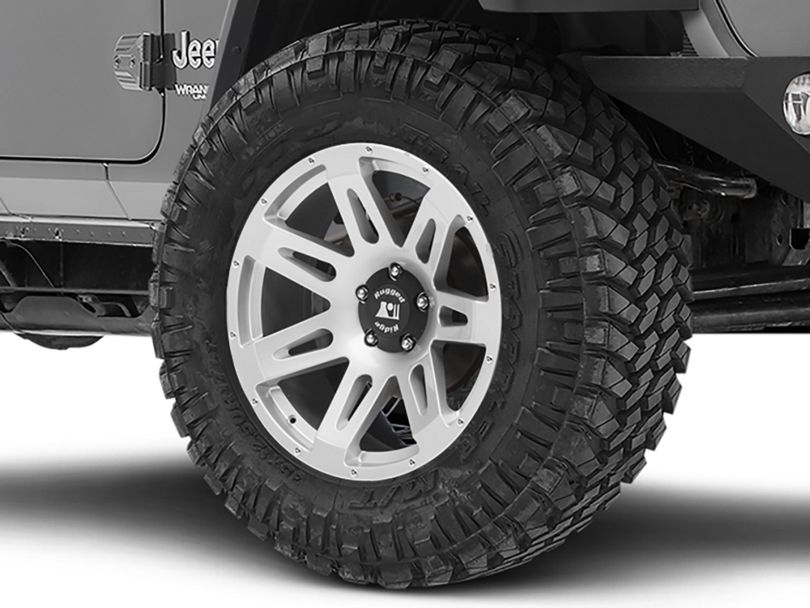 Rugged Ridge XHD Silver Wheel; 20x9 (18-20 Jeep Wrangler JL)