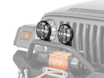 KC HiLiTES 6 in. Apollo Pro Replacement Fog Light (97-04 Jeep Wrangler TJ)
