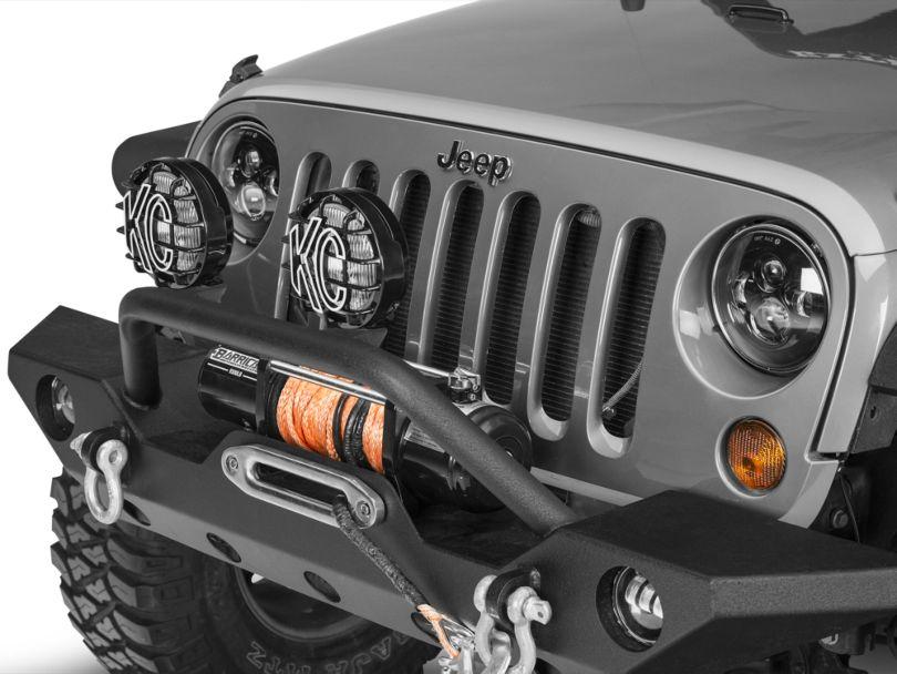 KC HiLiTES 6 in. Slimlite Halogen Replacement Fog Light (05-06 Jeep Wrangler TJ)