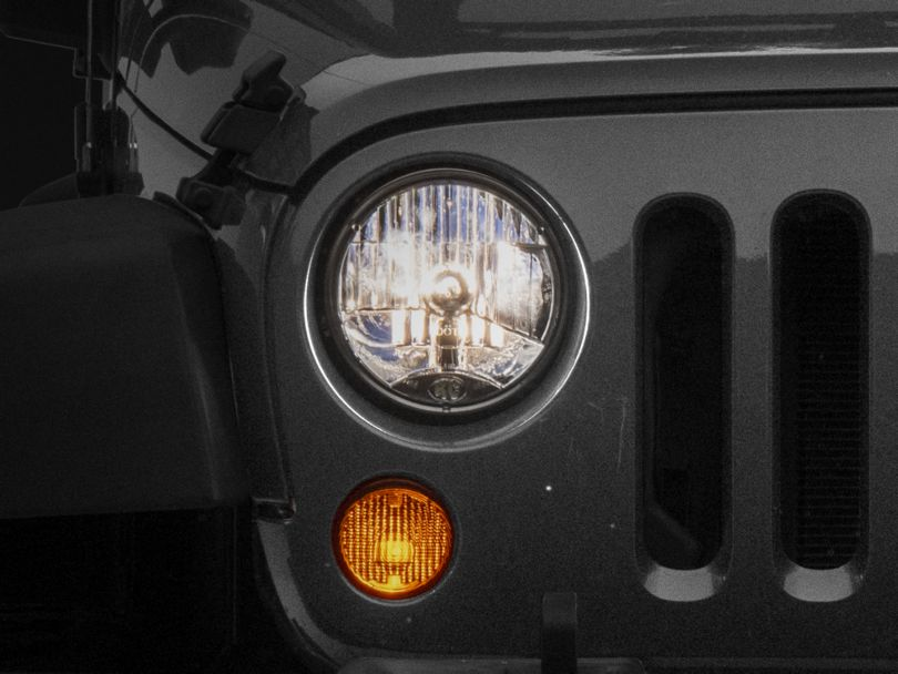 KC HiLiTES H4 Headlight Conversion Kit (07-18 Jeep Wrangler JK)
