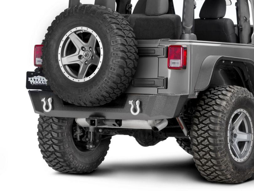 Barricade Extreme HD Rear Bumper (07-18 Jeep Wrangler JK)